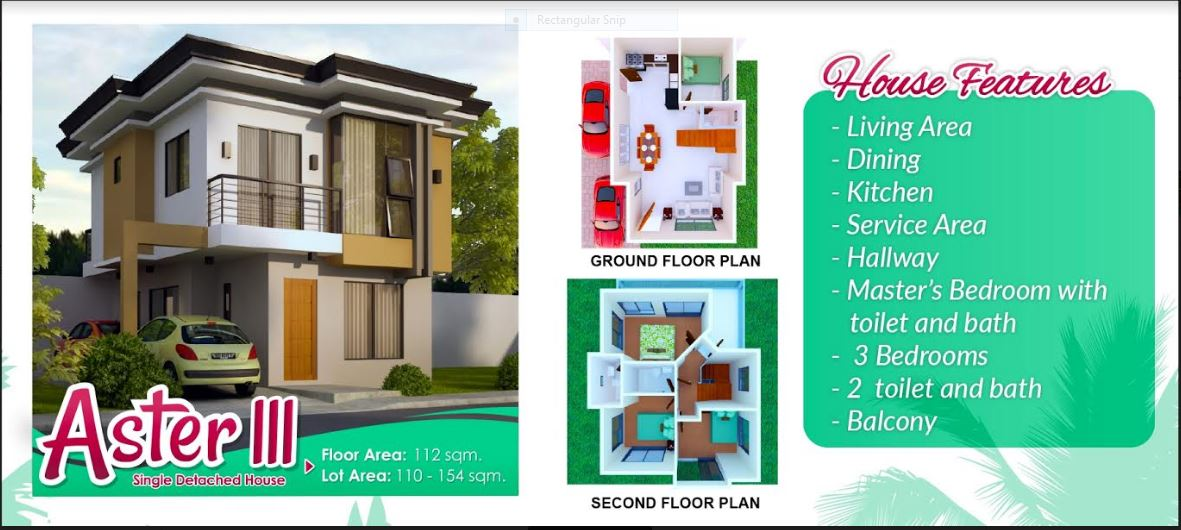 Anami Homes floor plan aster 111
