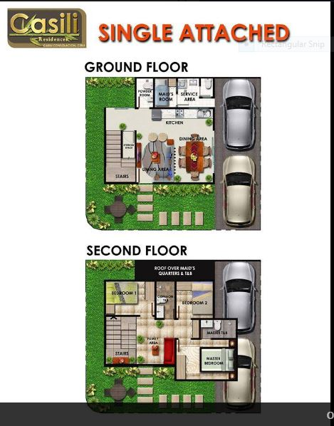 Casili Residences single a. flr plan