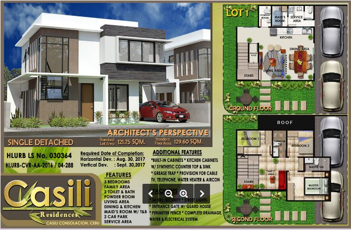 Casili Residences single detached