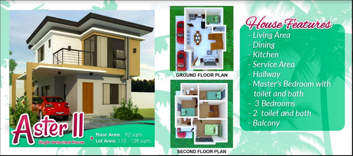 anami Homes North floor plan aster