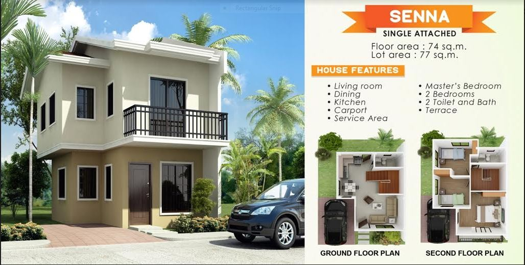 anami Homes floor plan Seena