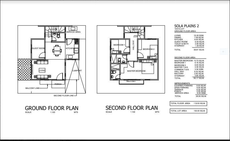 Sola dos Amber floor plan