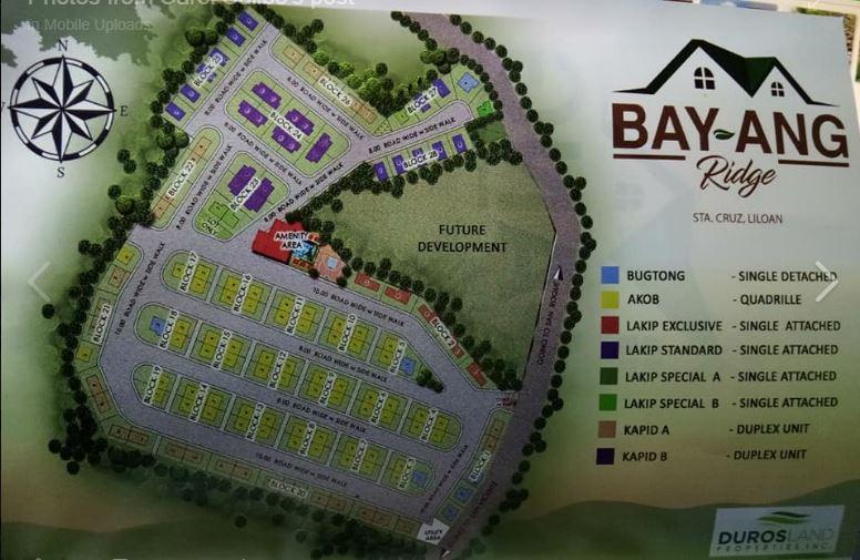 Bay-ang Ridge map