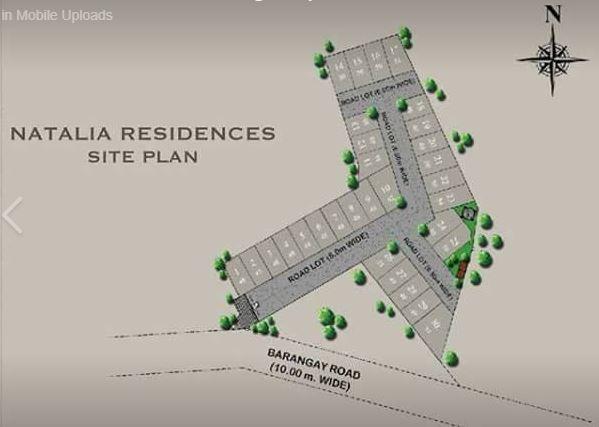 Natalia Residences map