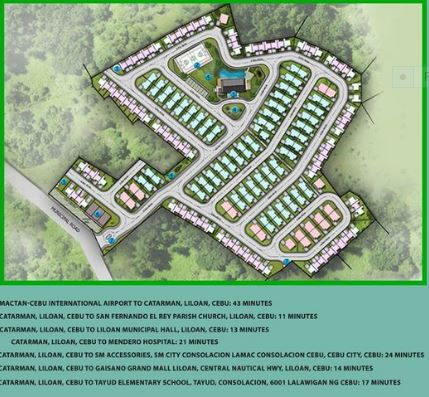 Bamboo Bay Residences vicinity map