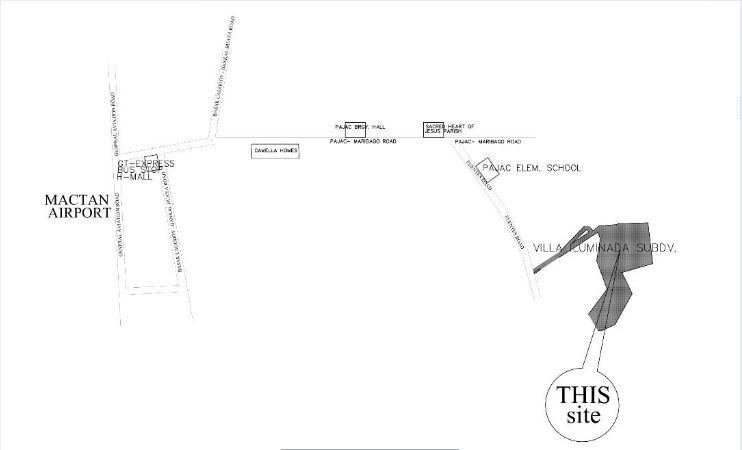 Villa Iluminada vicinity map