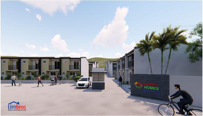 Happy Homes Liloan entrance