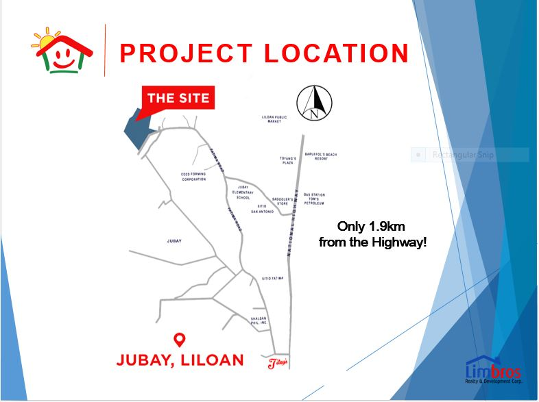 Happy Homes Liloan location