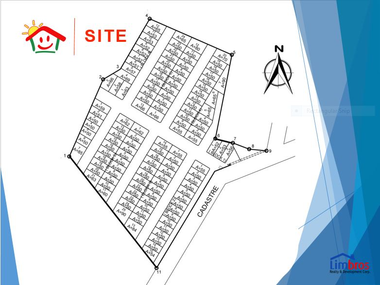 Happy Homes Liloan site map