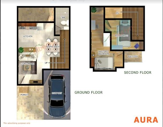 West box Hill Aura floor plan