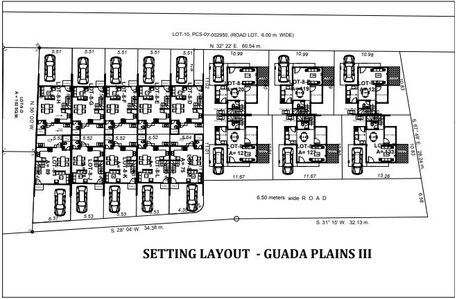 Guada Plains 3 Lay out