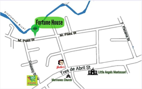 Fortune House location map