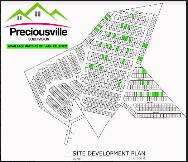 Precious Ville map