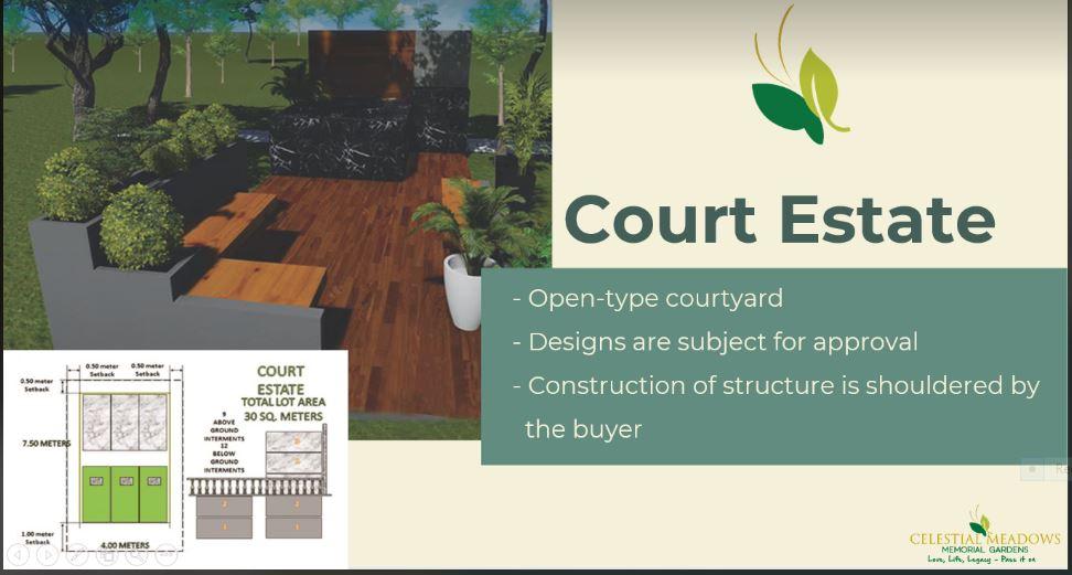 Celestial Meadows Compostela court estate