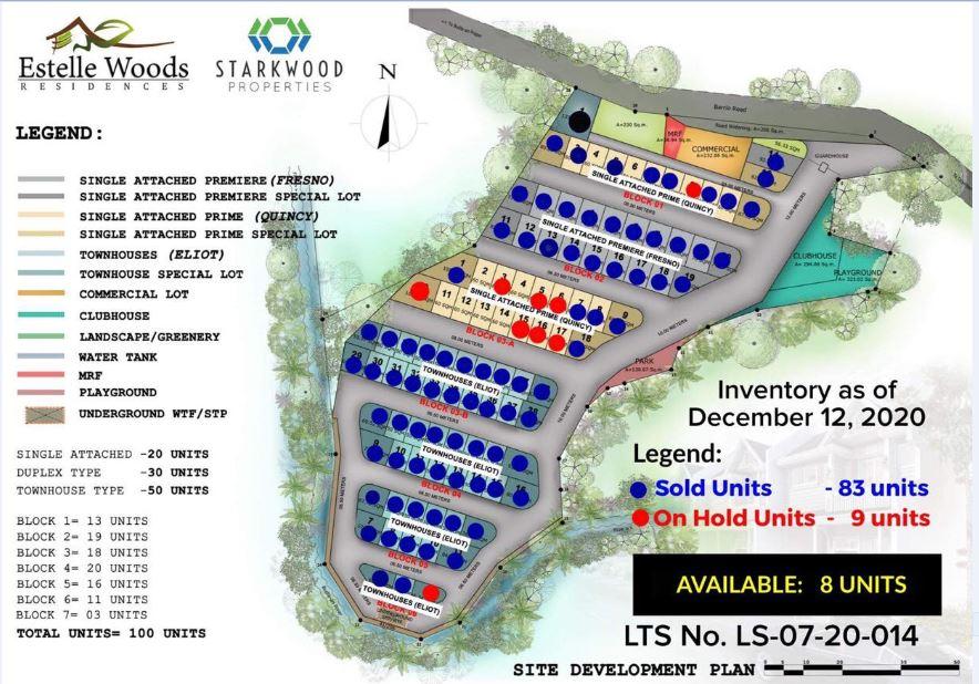 Estelle Woods map Dec. 14, 2020