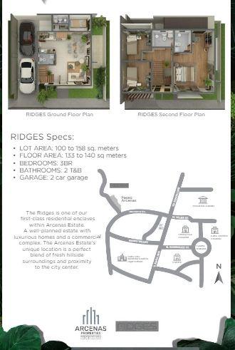 Ridges Floor plan sept. 5, 2020