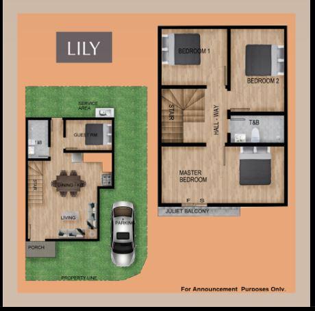 Elkwood Homes Lily floor area