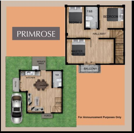 Elkwood Homes Primrose floor area
