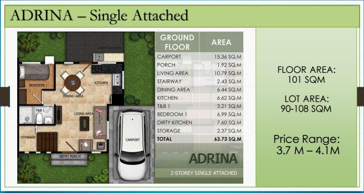 Modena Liloan Adrina floor plan 1