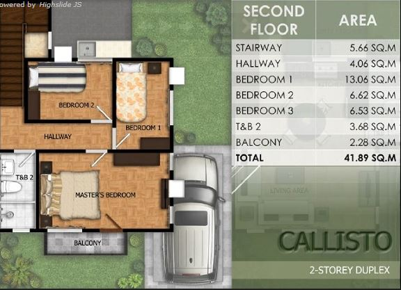 Modena Liloan Callisto floor plan 2