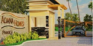 Adana Homes entrance